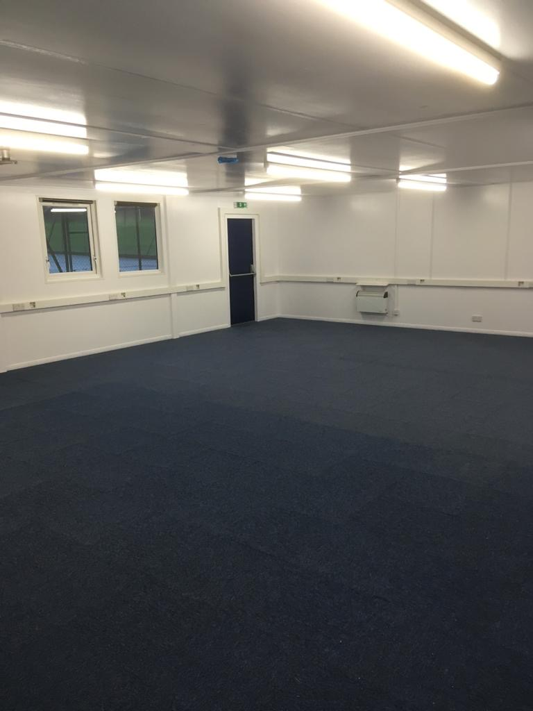 Modular classroom refurbishment