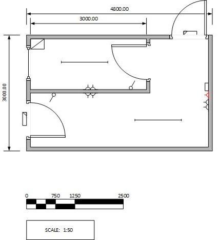 Covid Testing Unit drawing